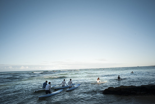 Morning of Waikiki Beach / LEICA M8 × ELMARIT-M 21mm F2.8