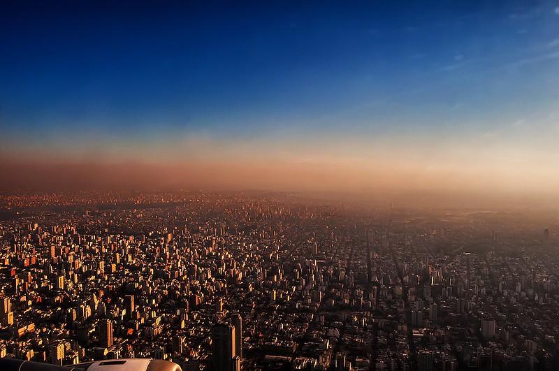 Buenos Aires y bruma - Buenos Aires and haze