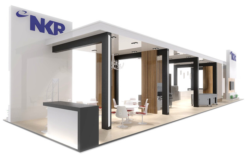 Exhibition Stand Design Sketchup : Helios works nkr exhibition design singapore