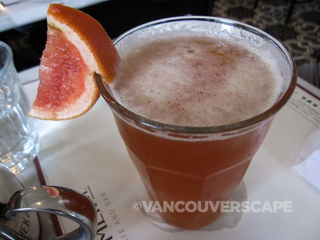 Port of Mumbai - IPA, Bombay Sapphire, aperol, grapefruit, lavender honey