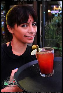 double caesar Sunday at La Casita Gastown in downtown Vancouver BC
