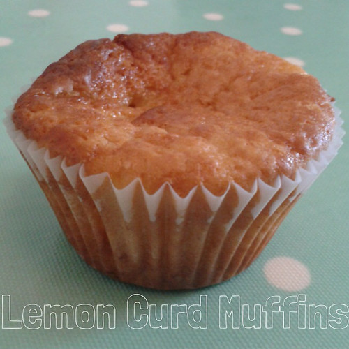 Lemon Curd & Yogurt Muffins