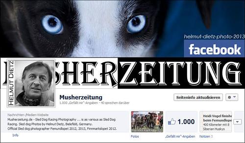 Facebook Musherzeitung 1000 Likes