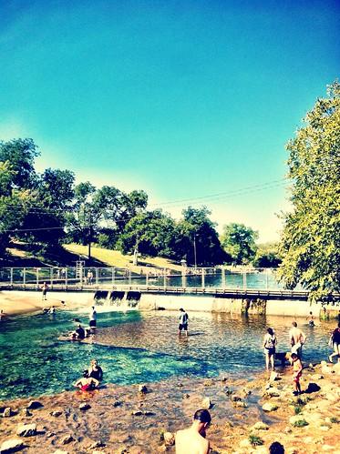 Barton Springs, Zilker Park