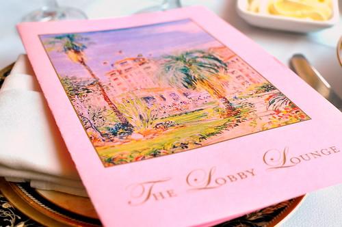 Chocolate Afternoon Tea at The Langham – Pasadena