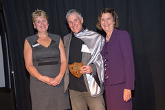 2013  Hero of the Homeless, Dr. Ken Stones with Vera LeFranc and Cllr Judy Villeneuve