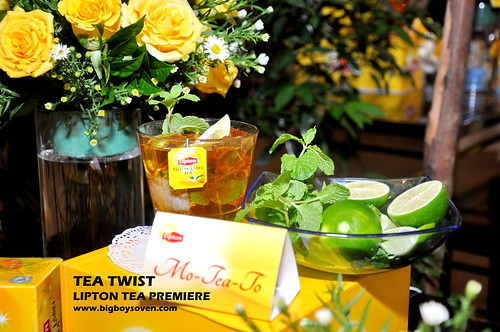 TEA TWIST Lipton Tea Premiere 11