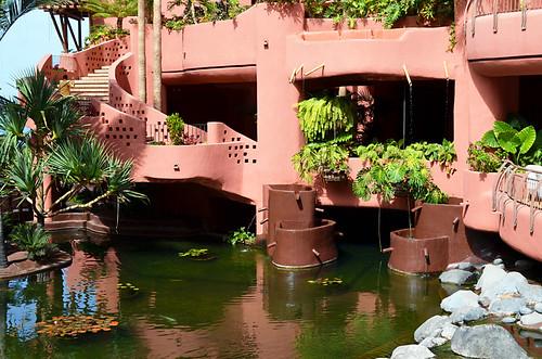 Koi Pool, Abama Hotel, Playa San Juan, Tenerife
