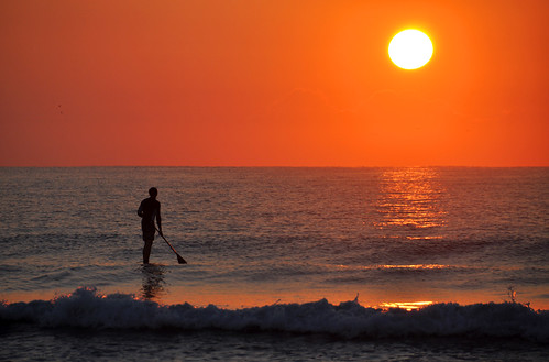 ocean sea beach sunrise coast nc surf board north paddle surfing shore carolina wilmington wrightsville paddleboard paddleboarding