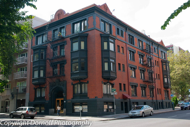 classic brick apartment building flickr photo sharing