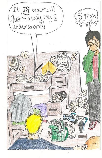 Organization Comic