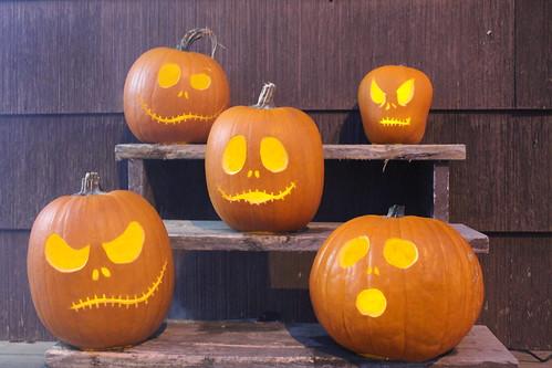 Pumpkins Halloween 2013
