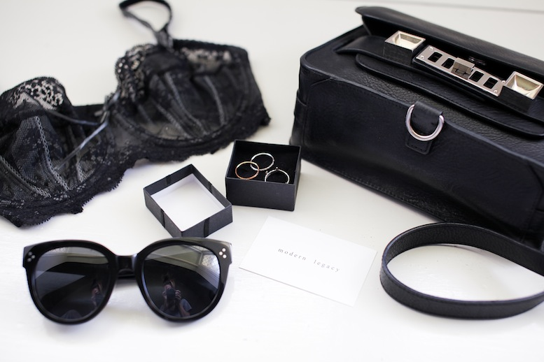 modern legacy fashion blog style blogger travel bag tips proenza schouler ps11 mini elle macpherson celine sunglasses Ipad business cards (1 of 2)