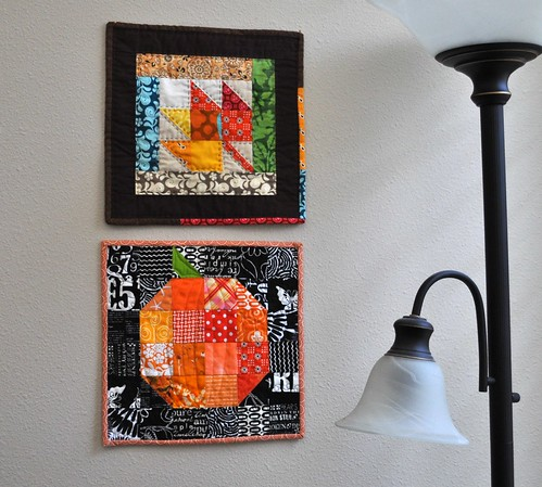 fall mini quilts