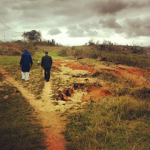 Blessed is the man who walks with a Godly companion. #brothersinchrist #walkinginthelightofgod #swaziland #maliyaduma #swazilandtripnovember2012 #siyahamba