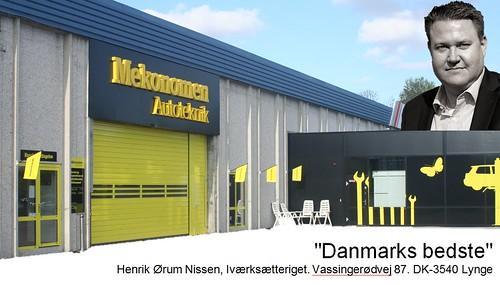 Henrik Hahn Nissen: anbefaling af Mekonomen Autoteknik - ES Motor