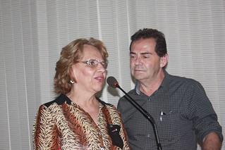 Vereadora Cidinha do Oncológico, ao lado do deputado Paulinho da Força
