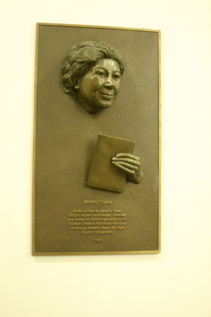 Beverly Cleary plaque