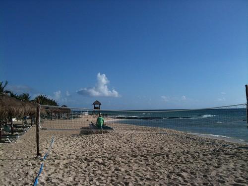 Early Morning Empty Beach
