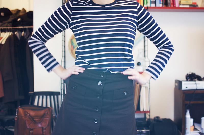 Lite jag och en ny kjol