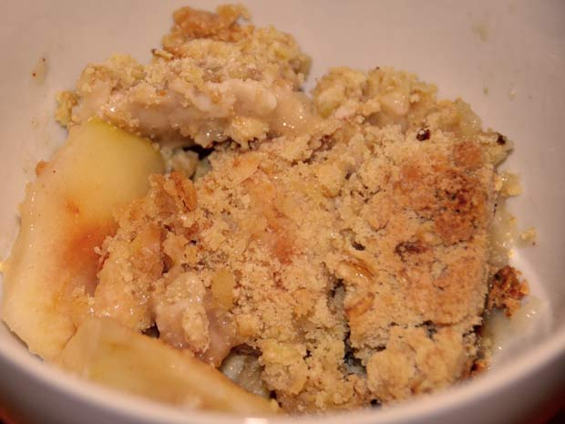 Homemade Apple Crumble Recipe — Dishmaps