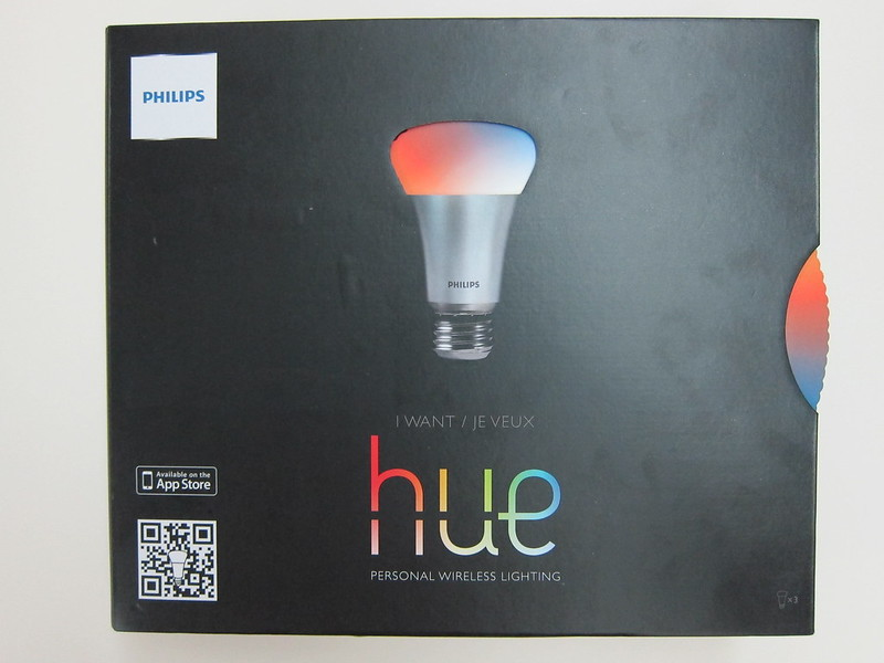 Philips hue - Box Front