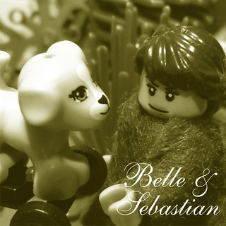 BELLE & SEBASTIAN: Dog on wheels