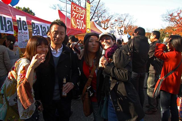 Con Kaori y Murio