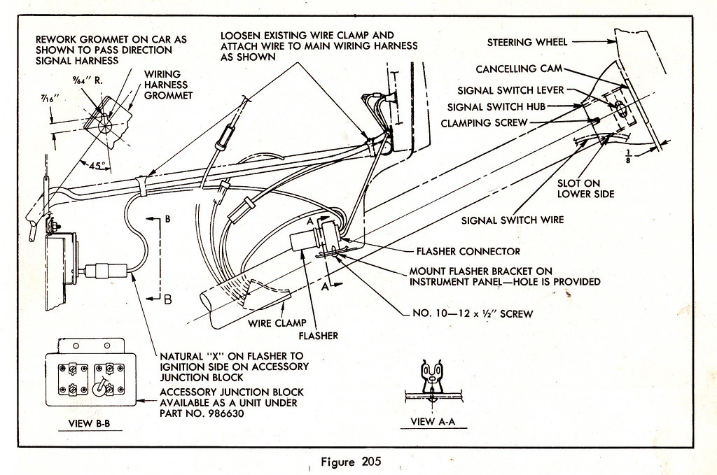 51 chevy turn signal wiring diagram