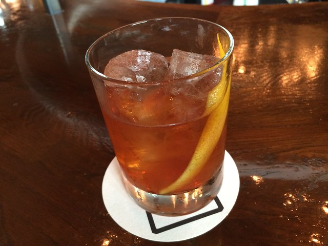 Bourbon Old Fashioned cocktail - Stoneburner