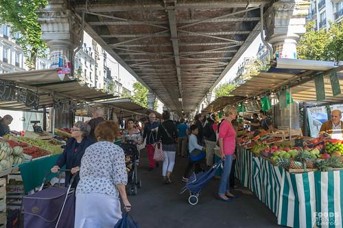 Wednesday Market Blvd de Grenelle- Paris