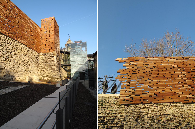 muralla vitoria_restauración_cedro rojo_inauguracion