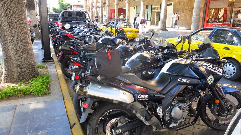 motorbike cop bikes