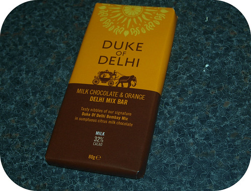 Duke of Delhi Milk Chocolate Orange Bombay Mix Chocolate