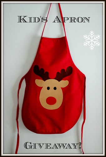 Kids holiday Apron