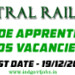 Central Railway Trade Apprentices Recruitment 2013