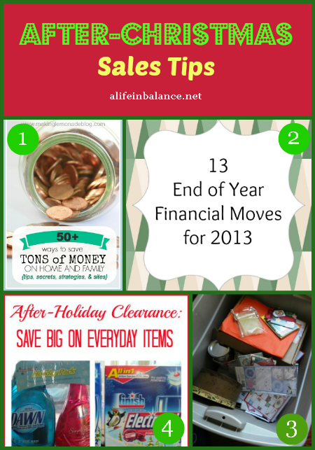 After-Christmas Sales tips