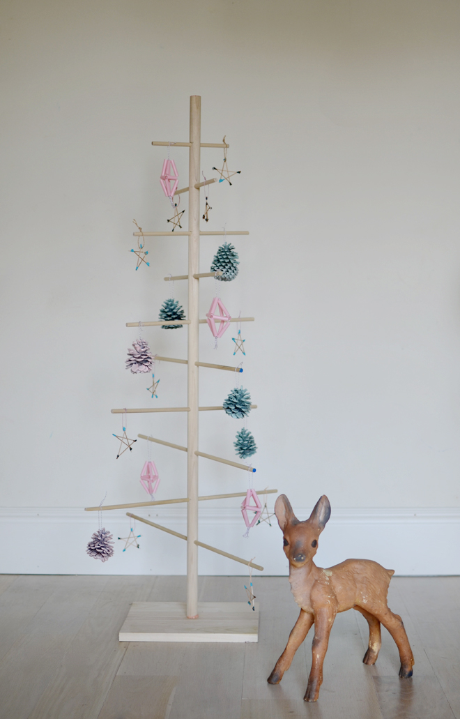 dowel christmas tree