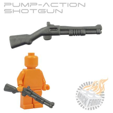 Pump-Action Shotgun - Steel