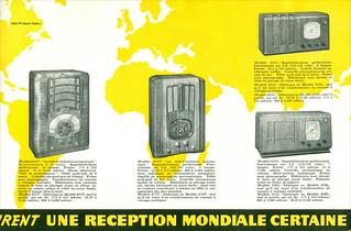 Croatia. Zagreb Year ~ 1938. American - Bosch Radio - 1938. Les Noveaux Modeles  UNITED AMERICAN BOSCH CORPORATION SPRINGFIELD U.S.A. 2050 PR Bosch Radio c
