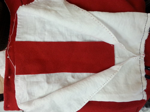 Red Placket, Red Men's Outfit, from 1560's Italy, based heavily on Moroni portraits on MorganDonner.com