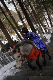 騎馬參拜 @ 函館八幡宮