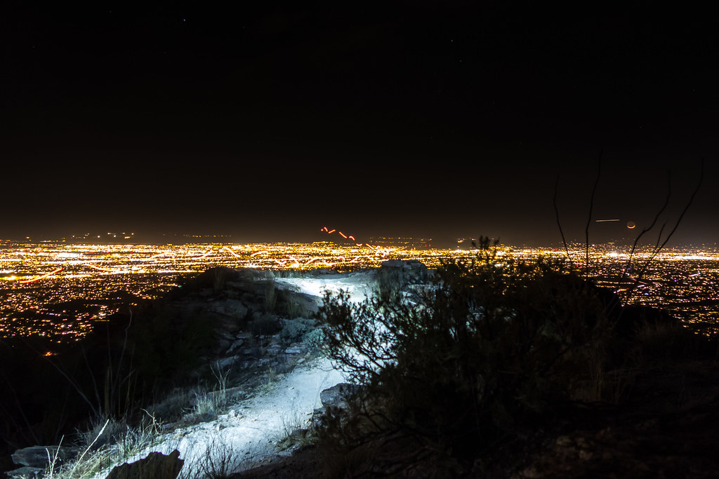 1401 Night Run on Blacketts Ridge