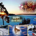Happy New Year 2014 from Norway