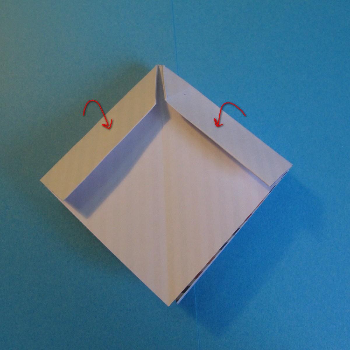 วิธีการพับกระดาษเป็นโบว์หูกระต่าย 012