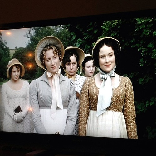 Here we go!!! Perfect night to watch Pride & Prejudice.