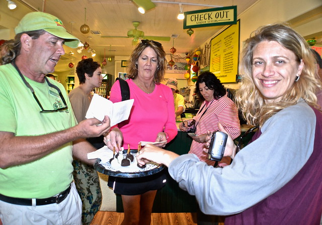 Key West, Florida- Bike Tour - tons of key lime tasters