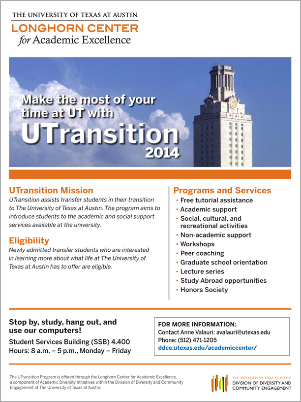 UTransition flyer