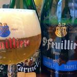ベルギービール大好き!!サン・フーヤン・トリプルSt.Feuillien Triple@クラフトビアベース