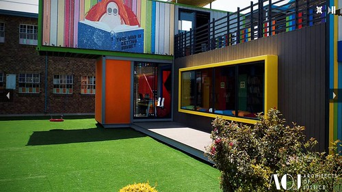 MC Weiler Primary School Library (by: Architects of Justice)